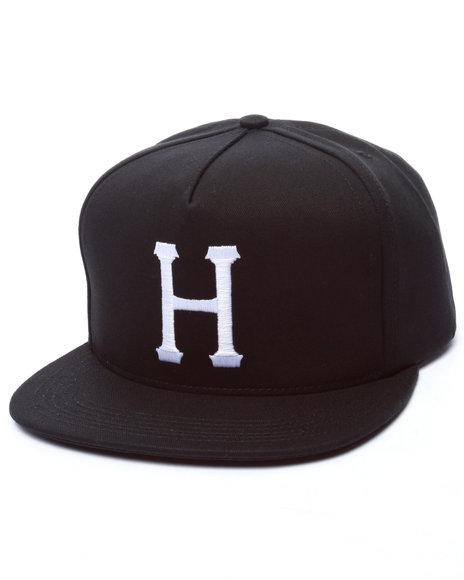 Huf Men Classic H Snapback Cap Black