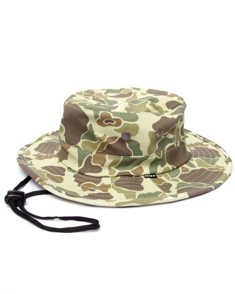 Huf - Men Olive Duck Camo Jungle Hat