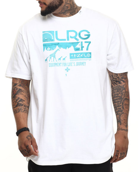LRG - Men White Journeyman T-Shirt (B & T)