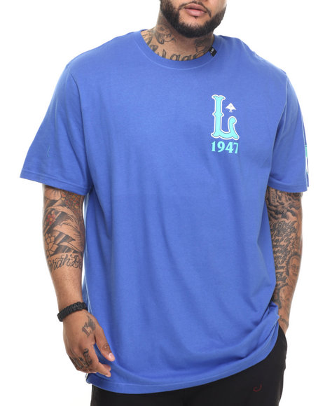 LRG - Men Blue L 1947 T-Shirt (B & T)