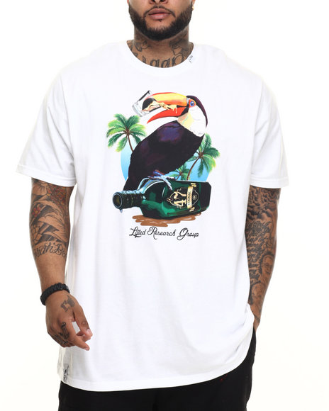 LRG - Men White Toucan T-Shirt (B & T)