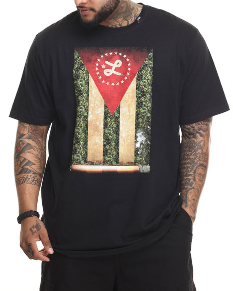 LRG - Men Black Cigaro T-Shirt (B & T)