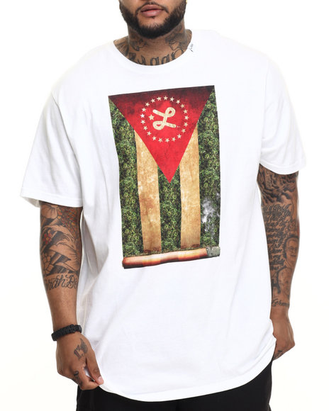 LRG - Men White Cigaro T-Shirt (B & T)