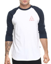 Men - Triple Triangle Raglan Tee