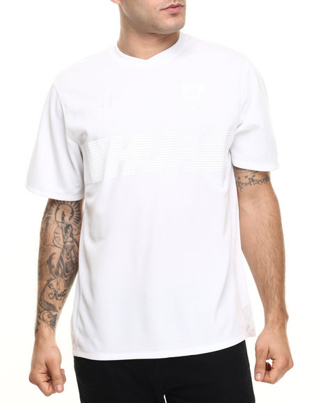 Huf - Men White 10K Soccer Jersey