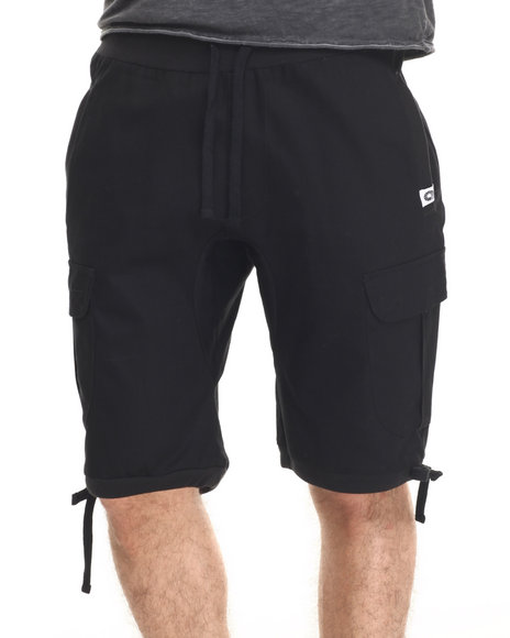 Akademiks - Men Black Switch Cargo Shorts