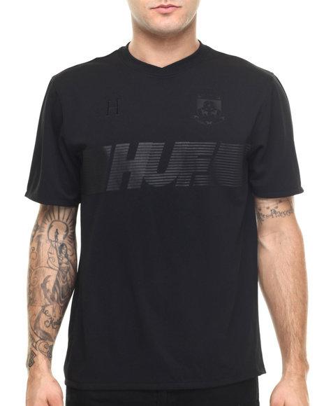 Ur-ID 219205 HUF - Men Black 10K Soccer Jersey