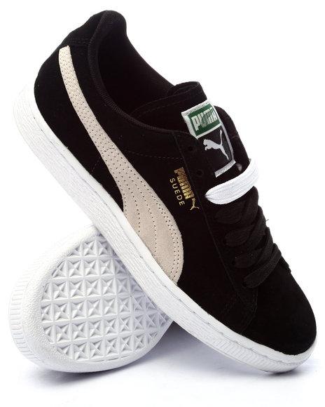 Puma - Women Black Suede Classic Wns Sneakers