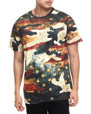 Men - Movement vintage camo s/s tee