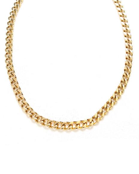 Rastaclat Men Premium Necklace Gold - $60.00