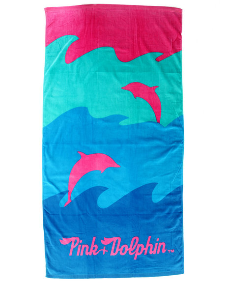 Pink Dolphin - Men Multi Ocean Beach Towel