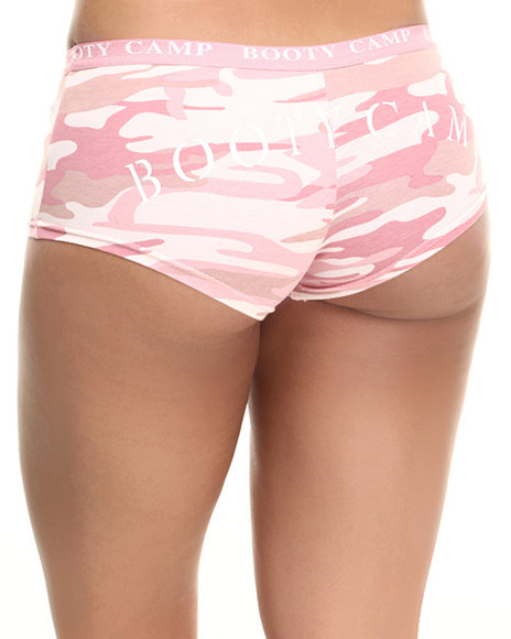 Rothco Women Rothco Baby Pink Camo 'Booty Camp' Booty Shorts Pink X-Large