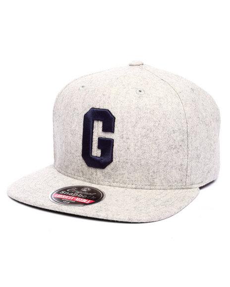 American Needle Men Homestead Grays Snapback Hat Grey