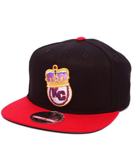 Ur-ID 223278 American Needle - Men Black Kansas City Monarchs Snapback Hat