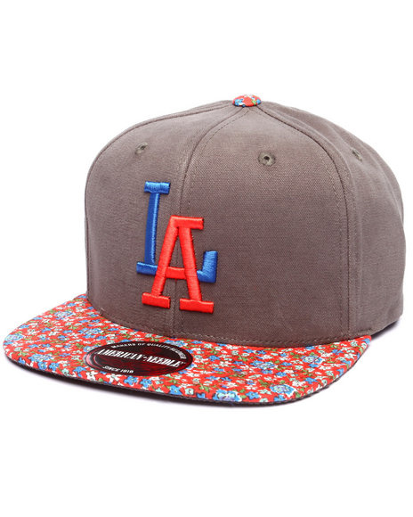 Ur-ID 223280 American Needle - Men Multi Los Angeles Dodgers Garden Variety Strapback Hat