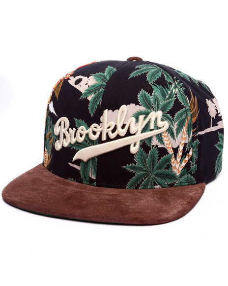 American Needle Men Brooklyn Dodgers Haven Strapback Hat Multi
