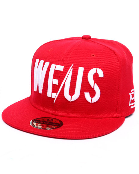 Dnine Reserve Men We/Us Snapback Red