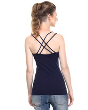 Tops - Seamless Criss Cross Multi Strap Cami