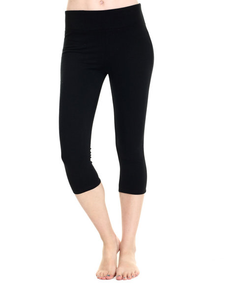 Ur-ID 219285 Fashion Lab - Women Black I Don't Exercise Yoga Pant