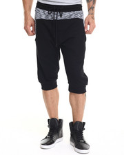 Hudson NYC - Marble Knit 3 / 4 Shorts