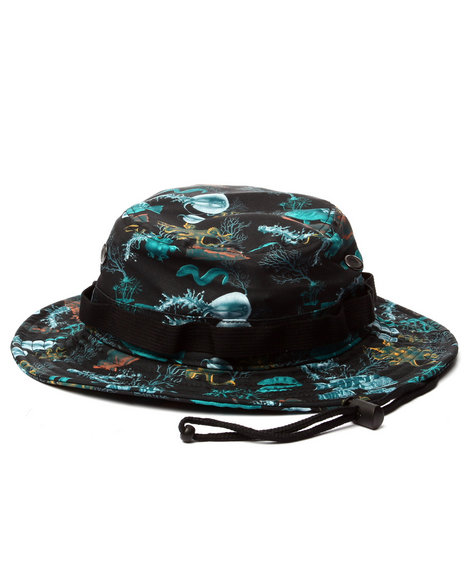 Lrg Men Underwater High Bonnie Black