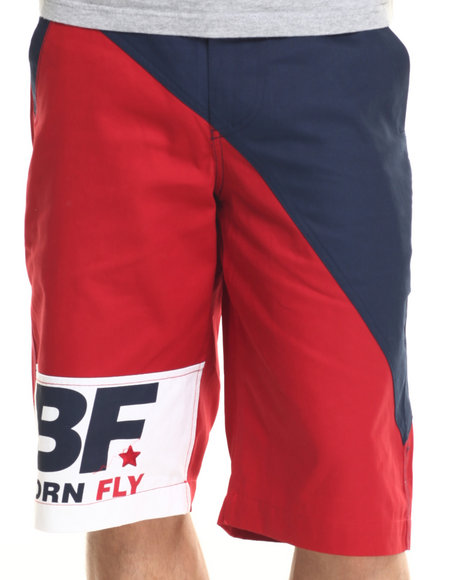 Born Fly - Men Navy Ambers Shorts