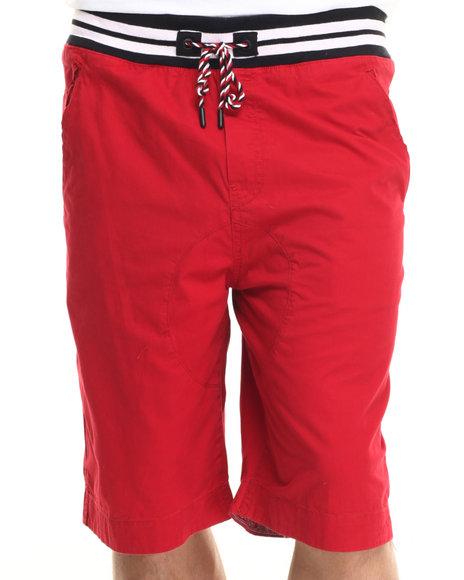 Ur-ID 219385 Born Fly - Men Red Bruno Shorts