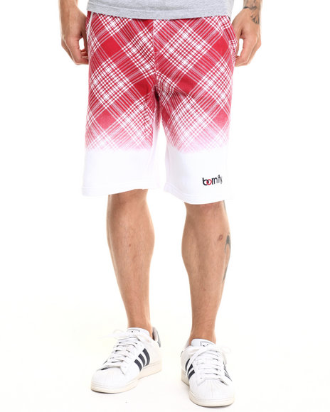 Born Fly - Men White Brewster Shorts - $43.99