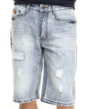 Men - Atlanta Rip & Repair denim Shorts