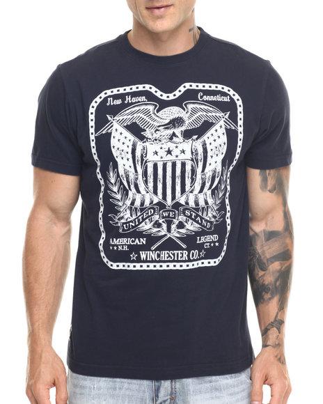 Ur-ID 219429 Winchester - Men Navy Woodrow S/S Tee