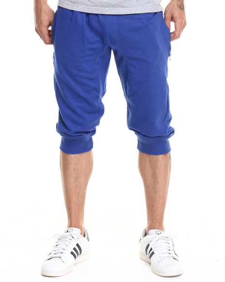 Ur-ID 218811 Enyce - Men Blue Manny Jogger Shorts