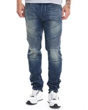 Slim - Rocco Indigo Moto Jean