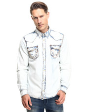True Religion - Jake Sun Faded Western Shirt