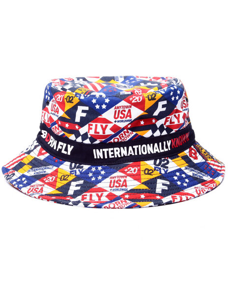 Born Fly - Men Navy Armstrong Bucket Hat