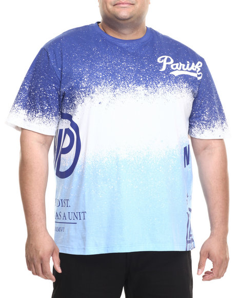 Parish - Men Navy Ocean Spray T-Shirt (B&T)
