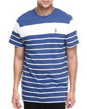 Men - Alden Stripe logo s/s tee