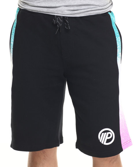 Parish - Men Black Ocean Spray Sweatshort - $29.99