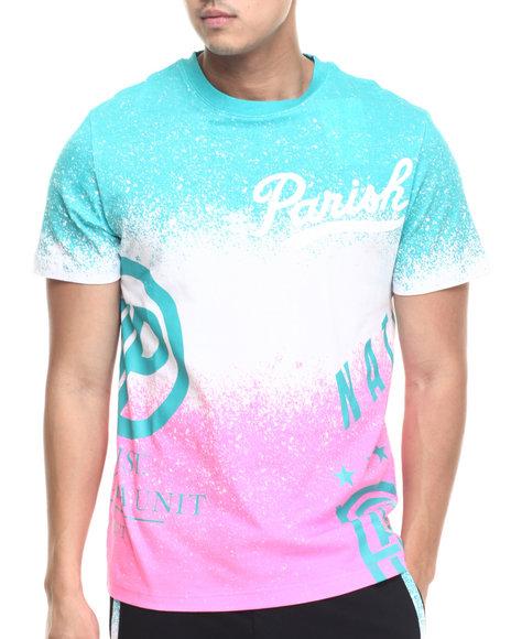 Parish - Men Green Ocean Spray T-Shirt