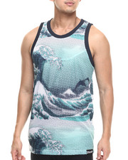 Men - TSUNAMI ALLOVER - PRINT JERSEY