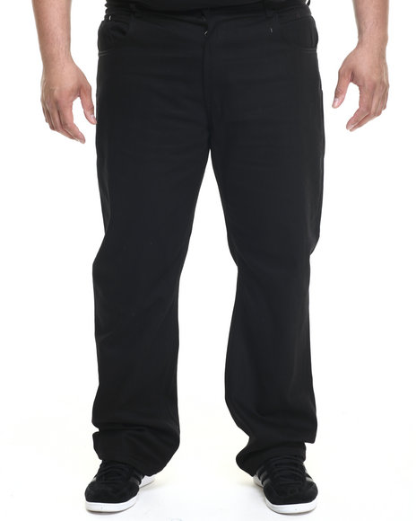 Parish - Men Black White Twill Pant (B&T) - $56.99