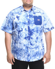 Men - Tie Dye S/S Button-Down (B&T)