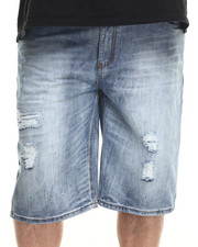 Shorts - Atlanta Rip & Repair denim Shorts (B&T)
