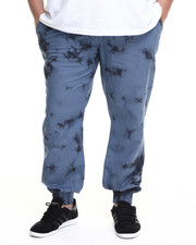 Big & Tall - Linen Tie Die Jogger Pant (B&T)