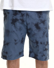 Men - Linen Tie Dye Jogger Short (B&T)