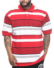 Basic Essentials - Multi - Stripe Pique S/S Polo
