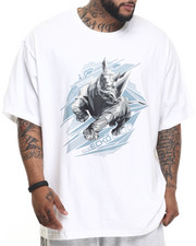 Ecko - Polygon Rhino T-Shirt (B&T)