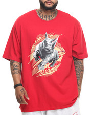 Men - Polygon Rhino T-Shirt (B&T)
