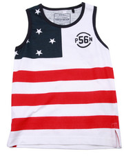 Tops - STARS & STRIPES TANK (4-7)