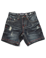 Shorts - STARS & STRIPES DENIM SHORTS (2T-4T)
