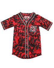 Tops - TAG DA CITY BASEBALL JERSEY (8-20)